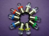 Wholesale 100x V Bayonet LED Light Lamp Bulbs BA9S T10 FOR CAR BOAT TOY