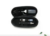 Wholesale ego kit CE4 Atomizer Clearomizer mah mah mah ego battery electronic cigarettes kit in Zipper carrying case DHL Free ship