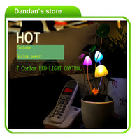 Wholesale New technology small light so cute Avatar Mushroom light with Ceramic and Resin model