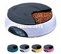 Wholesale 4 Meal Promo LCD Automatic Pet Feeder