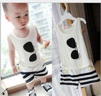 Baby Boy 2Pcs Outfits Infant Concise Style Leisure Suit Sung...