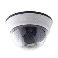 Wholesale CMOS TVL Color IR Leds CCTV Surveillance Video Indoor Dome Camera S04HW