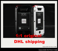 Wholesale Official original Lunatik Taktik Extreme Case Cover Aluminum Case and Premium gorilla Glass Film Case cover for iphone s DHL