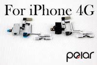 Wholesale OEM Black White Replacement Headphone Audio Jack Sensor Flex Cable Ribbon For iPhone AA0039