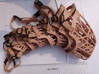 other basket dog muzzle - 7pcs Size1 Size ddog mask Pet Adjustable Basket Cage Safty MUZZLE DOG Mesh Muzzle Mask DOG MUZZLE