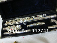 Wholesale Musical instruments flute YFL S Flute with case sliver Woodwind Flute