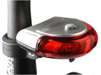 Wholesale 1 Bike Safety LED UFO Light Bicycle Beam Rear Tail Light Flashing Lamp