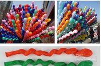 Wholesale 2000pc Popular Spiral Latex Balloons Wedding Birthday Party Christmas Screw Balloon Kids toys G