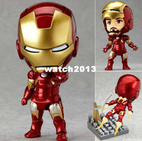 Wholesale New Arrival The Avengers Q Iron Man set High Quality PVC Action Figure Toys Dolls Approximately
