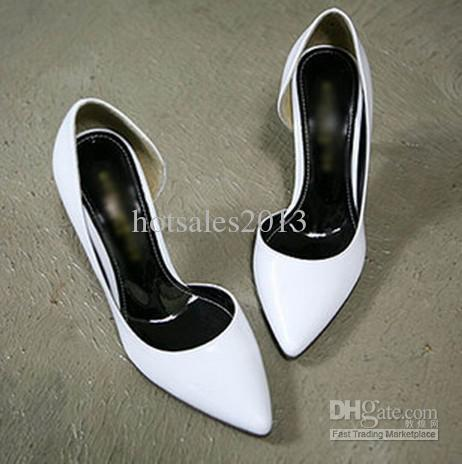 Super White Color Ladies Women&39s Office Shoes Spring Autumn Fall ...