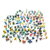 Wholesale New Wholesale168pcs a Different Styles Pokemon Monster Mini Figures Toys in Random