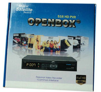 Wholesale New arrival Original DVB S2 Openbox S16 HD satellite receiver with Ali3606 Support P