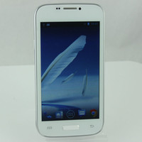 Wholesale Cheap china android4 android phone s4 i9500 dual sim card dual camera