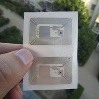 Wholesale 100pcs NFC tag RFID sticker Mifare k s50 PET label x26mm mhz ISO14443A