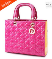 Wholesale cheap discount shoulder bag Lady Women JUST STAR Crocodile Pattern Handbag Tote popular PU leather Bags