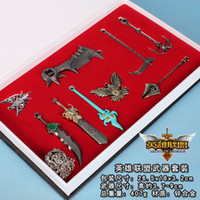 Wholesale League of Legends cos Pendants set of styles mixed with color box for new year gift