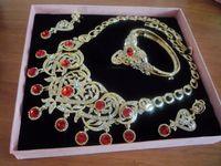 2013 New Design Fashion Jewelry Sets Inlaid Zircon Luxury Al...