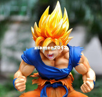 Wholesale Genuine Dragon Ball Z Action Figure Super Saiyan Goku Kakarot Ver Anime PVC quot Super Cool Toy