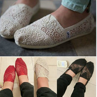 Wholesale 2013 new TMS style casual canvas shoes flat pattern stripes sun flower hollow soft bottom shoes