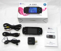 Wholesale Dingoo A330 Emulator Game Console built in wireless receivers