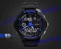 Wholesale Promotion price top brand SKMEI student electronic watch dual display multifunctional waterproof outside sport mens watch