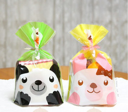 Wholesale Cookie Biscuit bags muffin cake bag cake container food packaging for wedding and festival party supplies cm