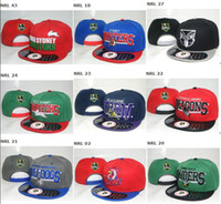 Wholesale NRL Snapback hats Rabbitohs cap Storm hats mixed order