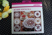 Set bakery - set Tiramisu cake stencils spray mold tool bakery pastry cake Cake Decorator PROMOTION