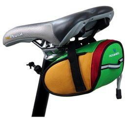 Wholesale Hot Sale Bicycle Bike Frame Saddle Outdoor Pouch Back Seat Bag Basket Racing Small Saddle Bag