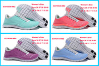 Flat Women Summer Latest Free Run+3.0 Women Barefoot Running Shoes free run+3.0 women sport shoes free shipping purple pink light blue