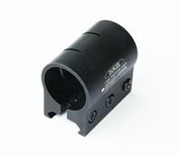 Wholesale Tactical inch Ring Flashlight Laser Scope Round Barrel Weaver Mount