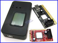 Wholesale 4 in PCI Mini PCI Mini PCI E LPC Desktop Laptop Notebook PC Motherboard Analyzer Diagnostic Debug POST Card