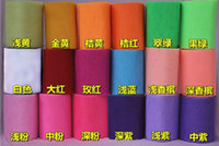 Wholesale retail wide cm Colorful ribbons mesh roll for Birthday Wedding Party Decoration gift pacakge DIY
