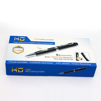 Wholesale Spy Camera Pen Hidden Camera GB HD Pen Video Audio DV DVR Recording Pen Camcorder H P MOV No Time Best price