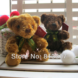 Wholesale Cute animals plush toy lovely bears stuffed Teddy mixed the best gift for childrn free shippimg shipping