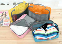 Wholesale Women Travel Insert Handbag Purse Large liner Organizer Bag Storage Bags Amazing Colors Hot sale