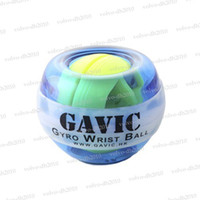 Wholesale Gavic LED Lights Power Exercise Gyro Wrist Ball in Blue Strap Case LLY298