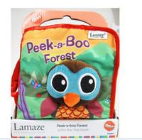 Lamaze le livre de Rama Zerbe Habits de tissu 8 livres de styles jouets d'enfants
