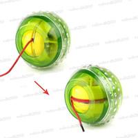 Wholesale LED Light Wrist Strength Exercise Massage Massager Ball New LED Lights Power Exercise Gyro Wrist Ball LLY299
