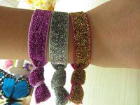 Cheap Headbands hair tie Best Plastic Striped elastic band