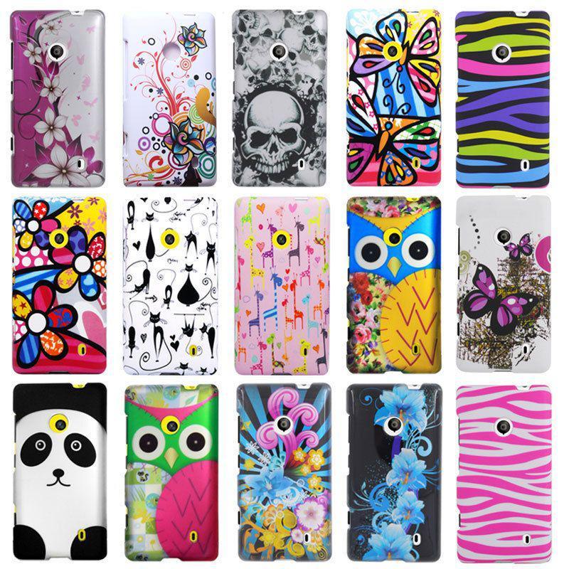 Wholesale - For Nokia Lumia 521 T Mobile New Designs Rubberized Hard