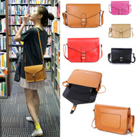 Wholesale Women Lady Handbag Satchel PU Faux Leather Tote Shoulder Cross body Messenger Bag Hobo colors H9369B BR