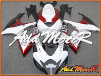 Wholesale Addmotor Fairing For Suzuki GSXR600 GSX R600 GSXR K6 Red White S66111 Free Gifts