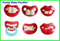 Wholesale Hot selling top quality Guarantee designs mixed funny silicone baby pacifier free ship