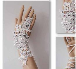 Wholesale The new wedding dress wedding photos wedding gloves fashion gloves photography bright drill brief p