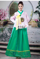 Asia & Pacific Islands Women Kimono Hanbok Korean clothing,Traditional hanbok Korean clothing,South Korea show national costume,performance wear