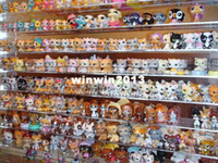 Wholesale Littlest Pet Shop LPS Animasl Loose Figures Collection toy sets funny toy