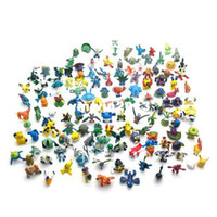 other pokemon - New Wholesale168pcs a Different Styles Pokemon Monster Mini Figures Toys in Random