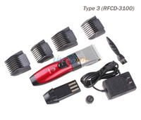 Wholesale Cordless Electric Rechargeable Beard Hair Clipper shaver for Men