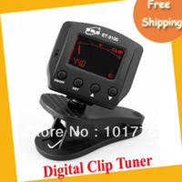 Wholesale EMS Chromatic Digital clip tuner with MIC and clip modes